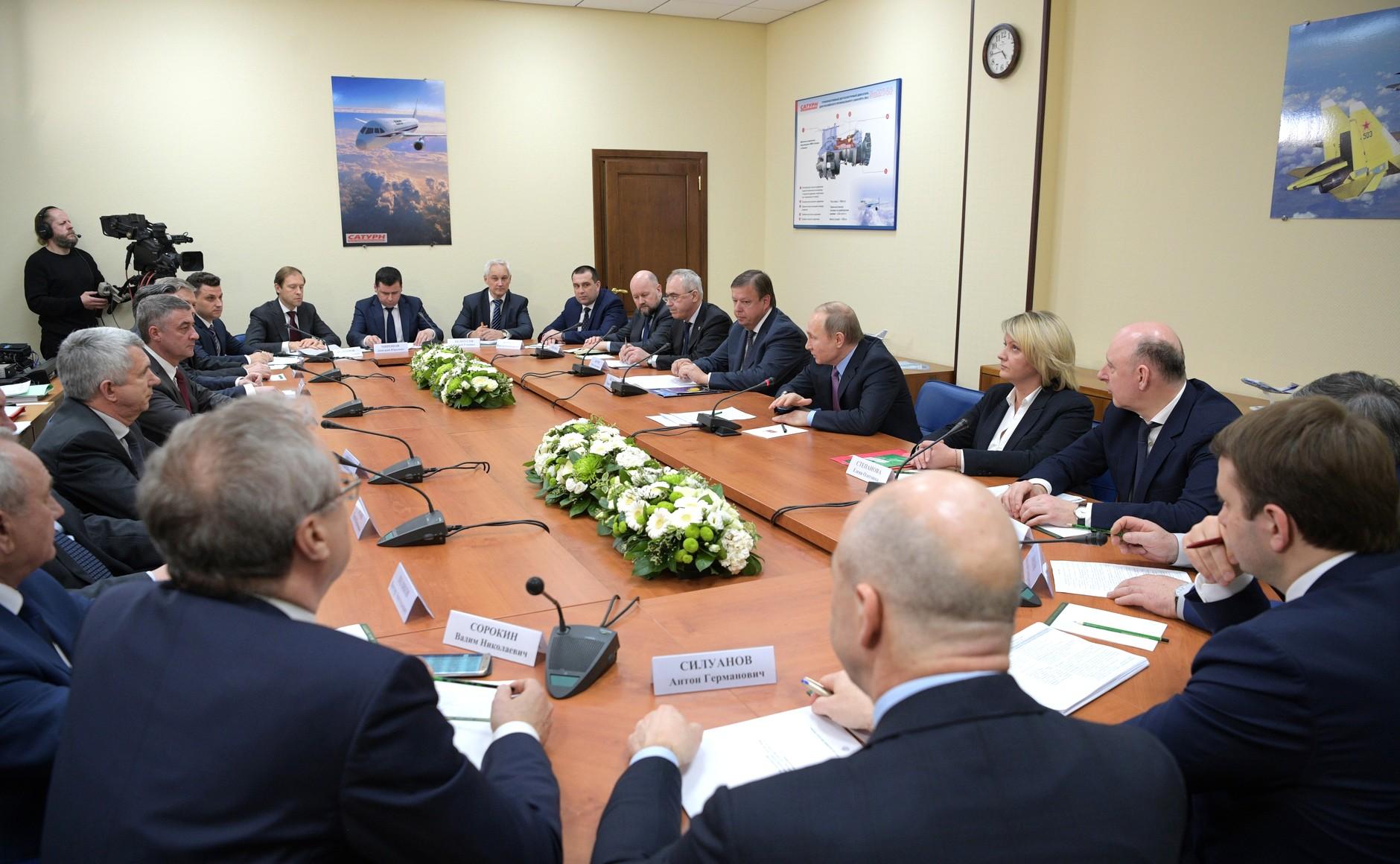 Ярославские предприниматели рассказали о встрече с Владимиром Путиным