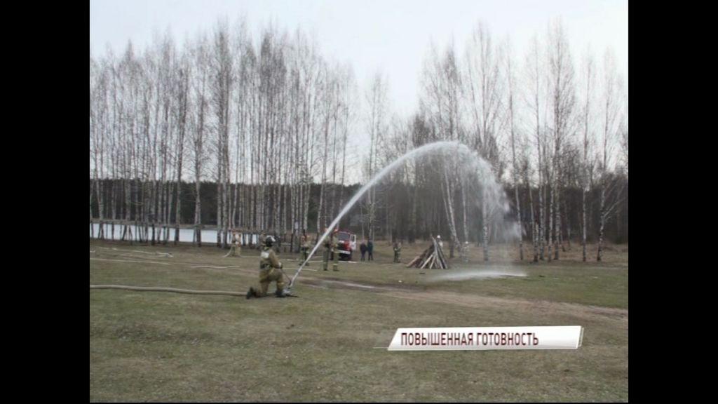 Из-за пала травы в ярославских лесах сохраняется пожароопасная обстановка