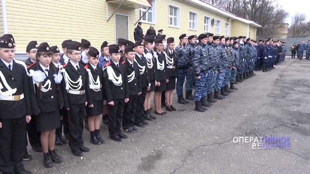 Ярославские полицейские провели смотр строя и песни среди отрядов «Юных друзей полиции»