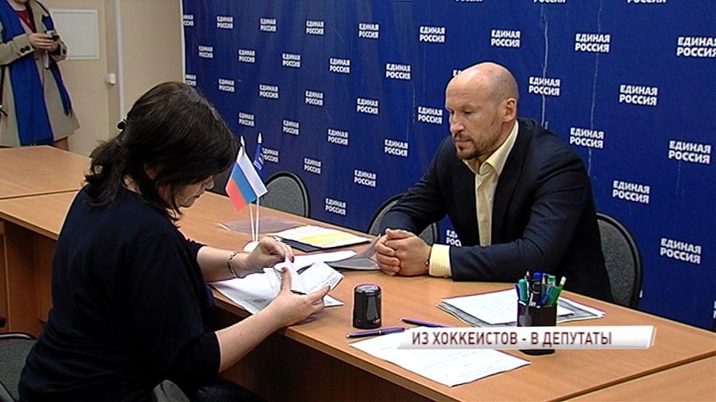 Пятикратный чемпион России по хоккею Илья Горохов решил стать депутатом