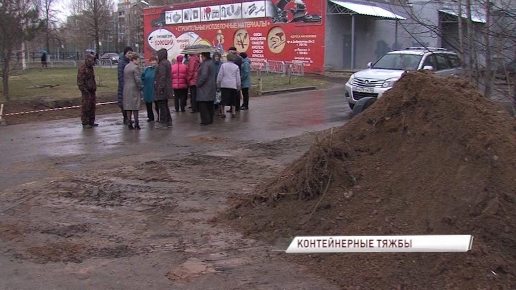 На Доброхотова развернулась настоящая битва вокруг установки новой контейнерной площадки