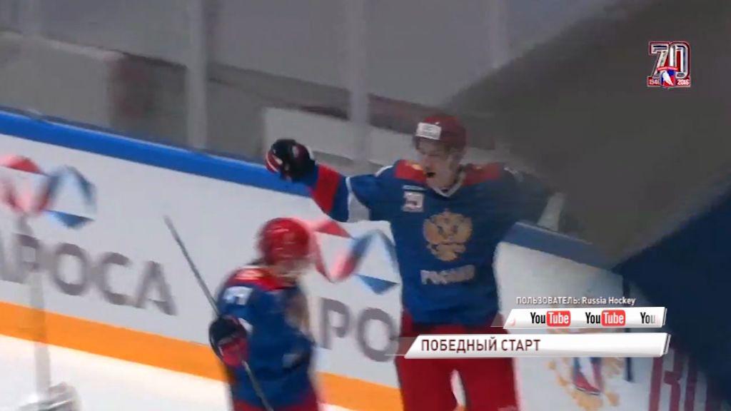 Егор Коршков отличился за олимпийскую сборную