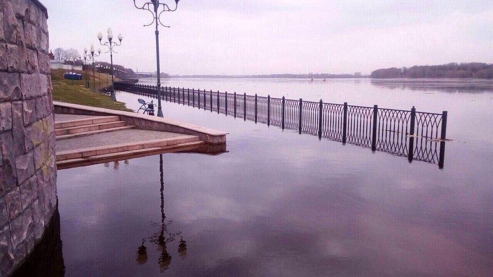 есть смотреть фото затопления набережной в рыбинске явно было