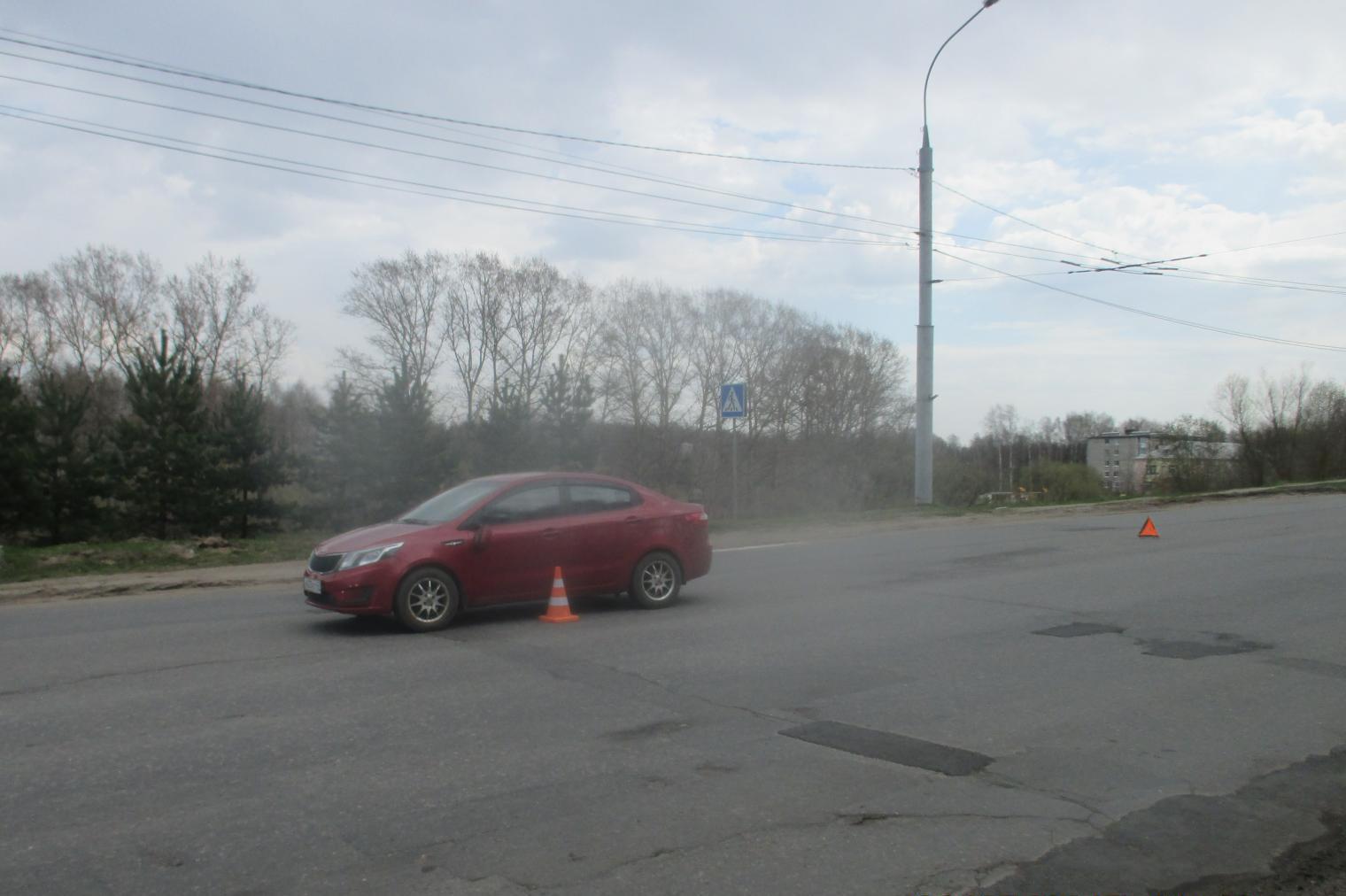 В Рыбинске под колеса «Киа» попал пешеход