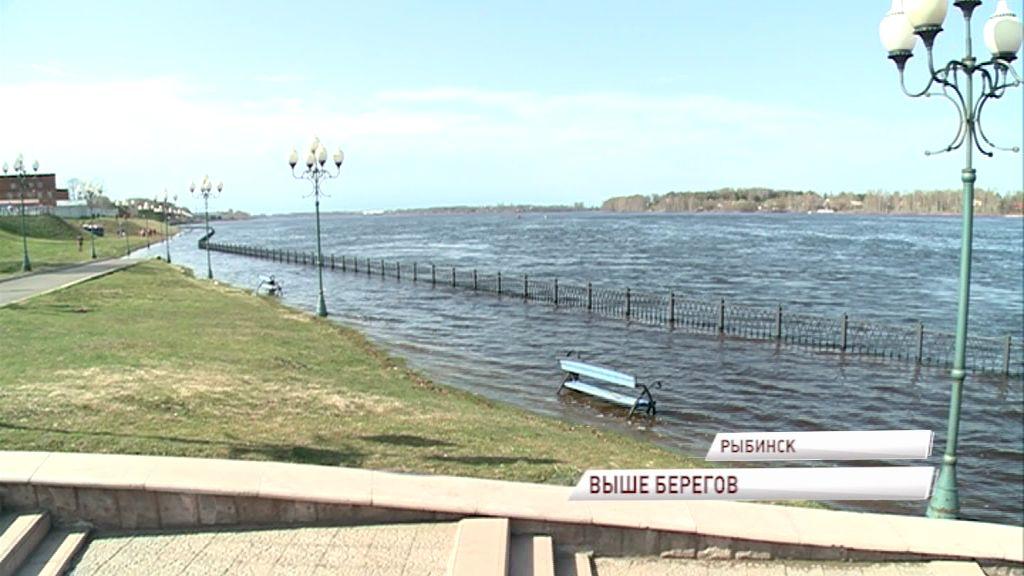 МЧС: в Рыбинске большая вода ушла почти на 2 метра
