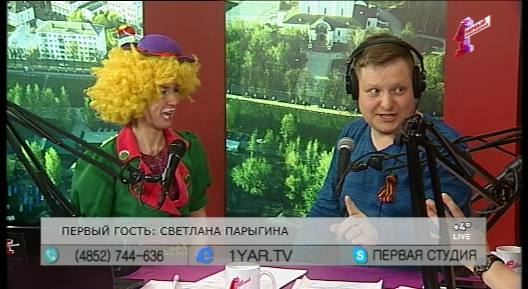 Светлана Парыгина за одну минуту превратилась из миньона в клоуна Кнопу