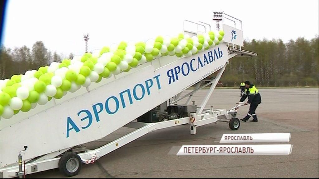Из аэропорта Туношна стартовали регулярные полеты в Северную столицу и обратно