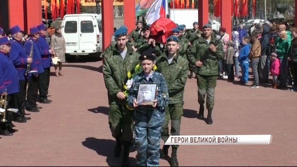 На воинском мемориальном кладбище захоронили останки героев ВОВ