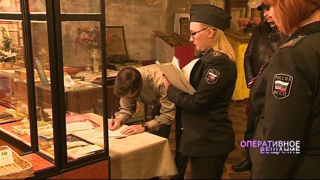 Судебные приставы пришли в храм Владимирской иконы божьей матери