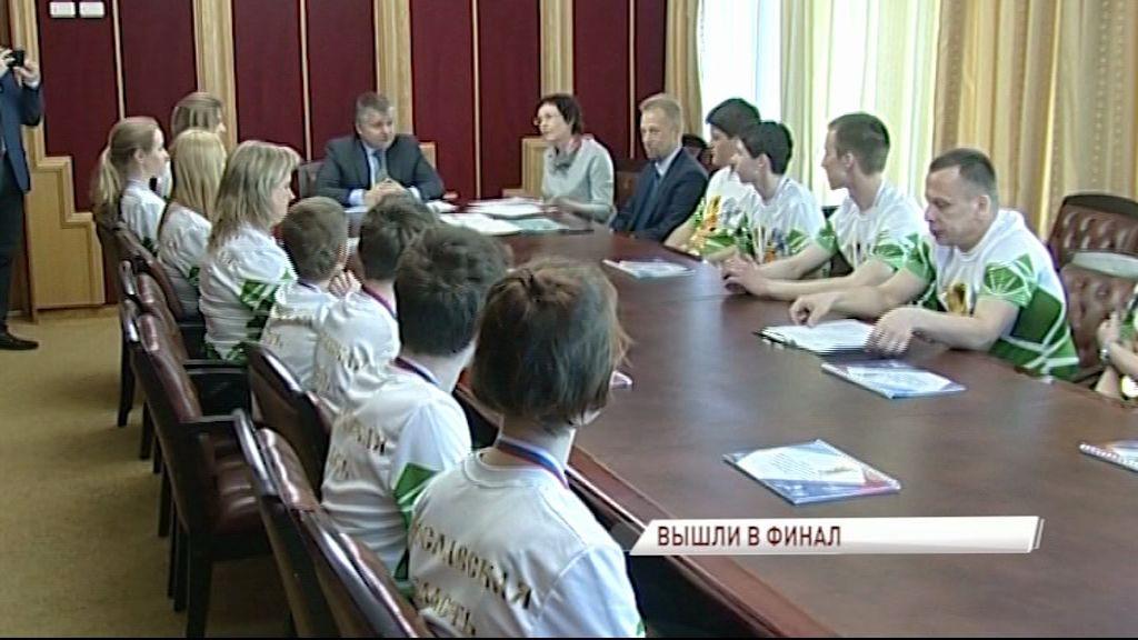 Виктор Костин встретился с финалистами чемпионата WorldSkills Russia 2017