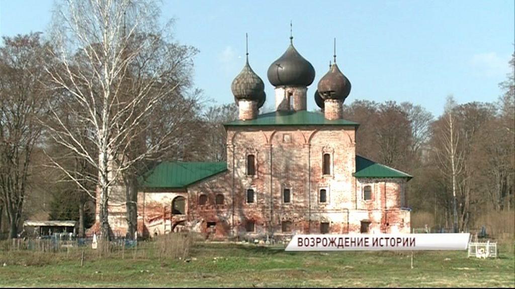 В деревне Хопылево Рыбинского района планируют реконструировать храм