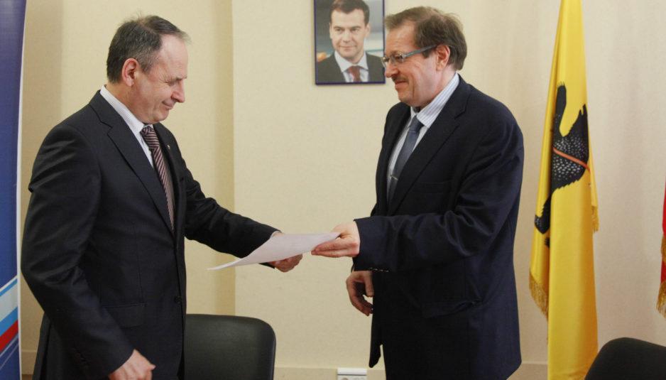 Александр Русаков будет участвовать в предварительном голосовании «Единой России» по выдвижению на выборы губернатора