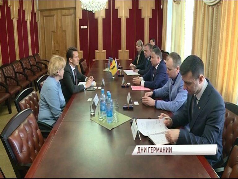 Ярославскую область посетил представитель немецкого посольства