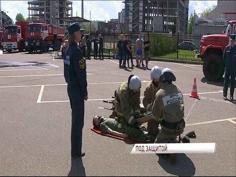 Добровольные пожарные дружины выявили лучших