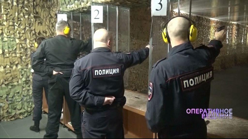 Ярославские полицейские соревновались в меткости
