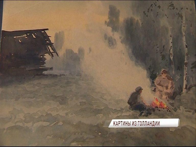 78 акварелей периода Первой мировой пополнили фонды Ярославского художественного музея
