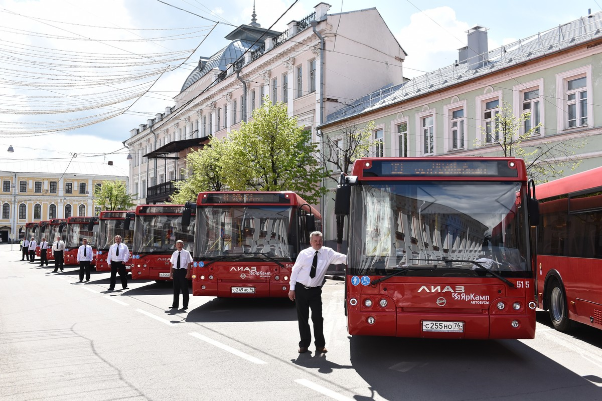 На дороги города выйдут десять новых комфортабельных автобусов