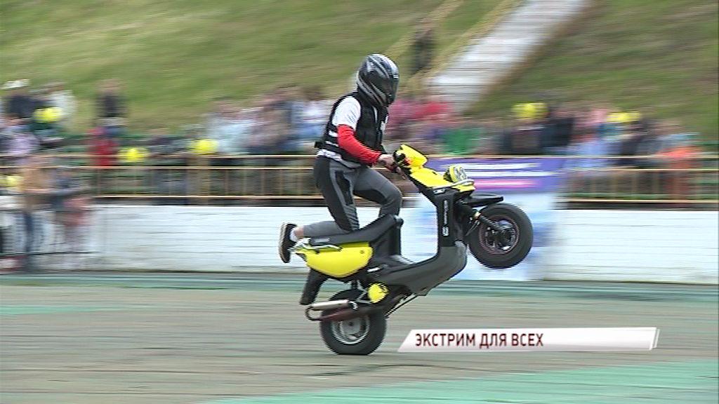 Фестиваль «Технополе»: Рев моторов, экстримальные прыжки и русская народная музыка
