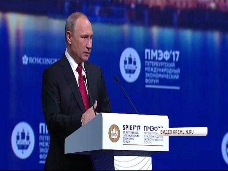 Дмитрий Миронов принял участие в заседании с участием Владимира Путина на ПМЭФ