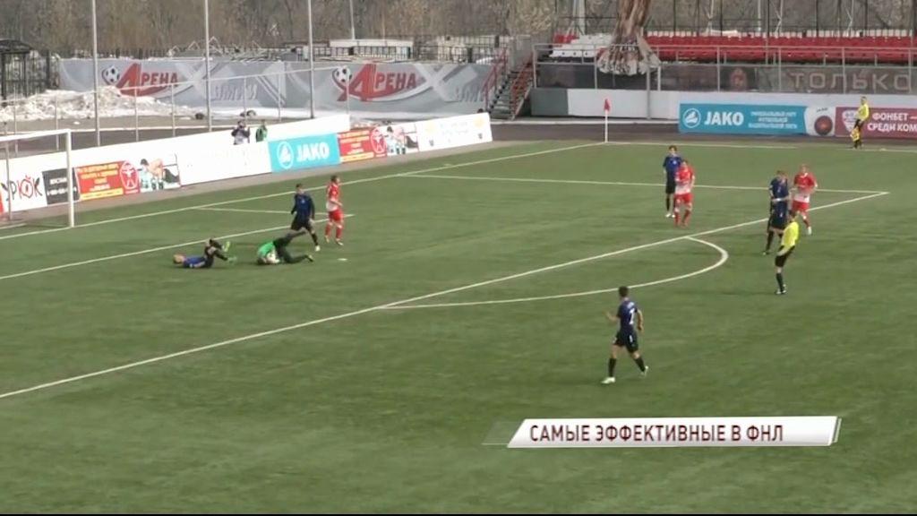 «Шинник» стал самым эффективным клубом ФНЛ в минувшем сезоне