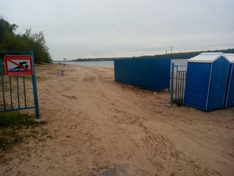 Пляж в Дзержинском районе подготовили к купальному сезону