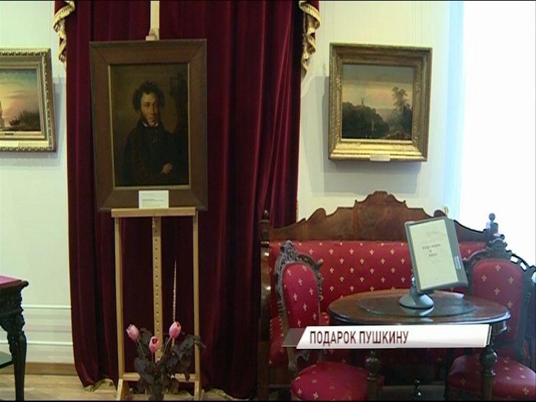 В Художественном музее впервые в 21-м веке экспонируют копию знаменитого портрета Пушкина