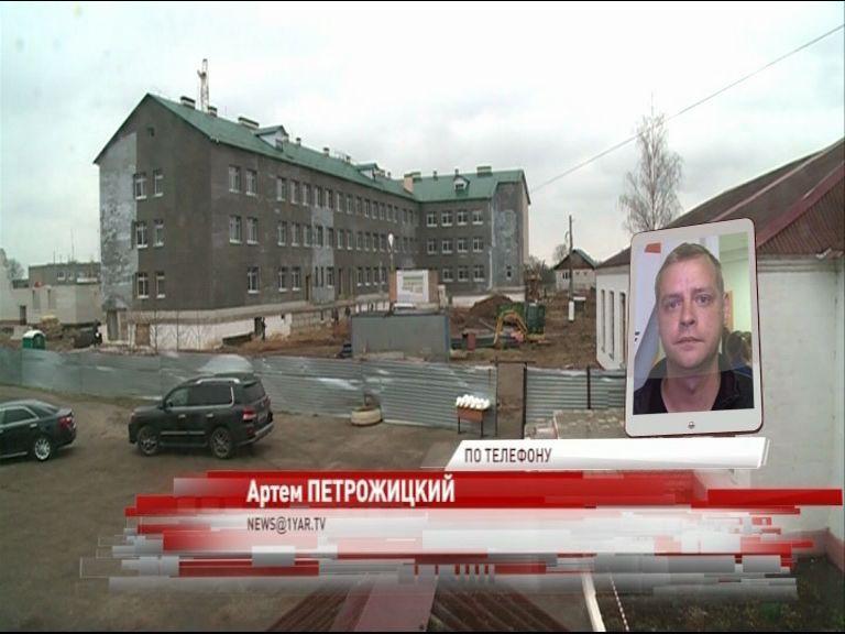 Виталий Ткаченко в Туношне проводит совещание по вопросам строительства школы