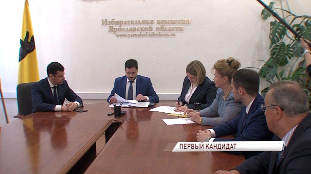 Дмитрий Миронов стал первым кандидатом на должность губернатора