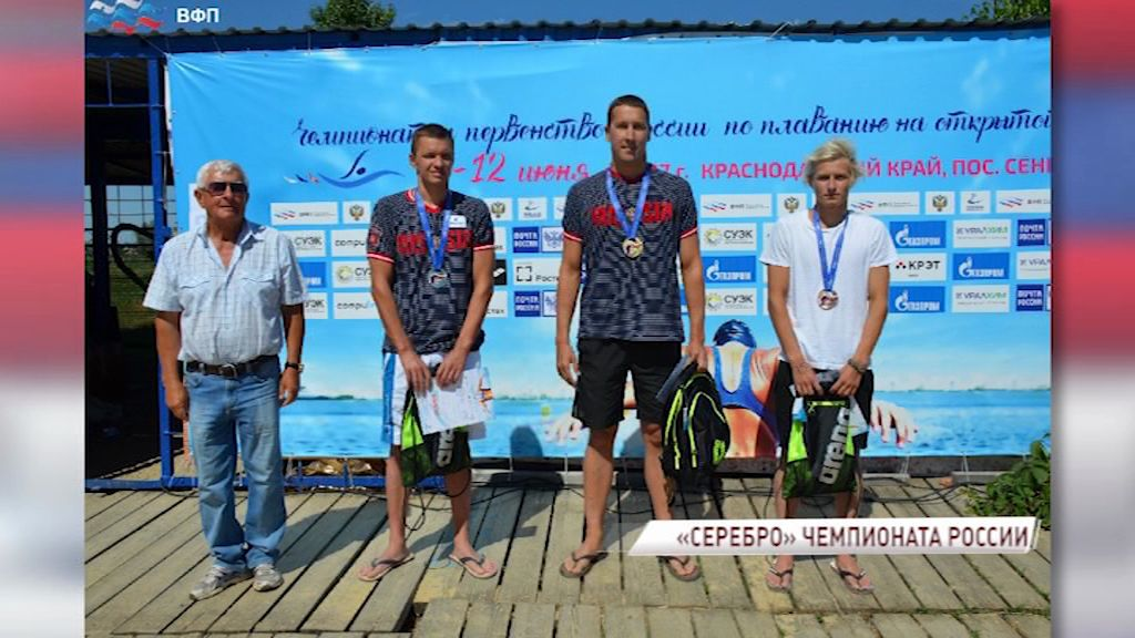 Чемпионат России по плаванию принес Евгению Дратцеву вторую серебряную медаль