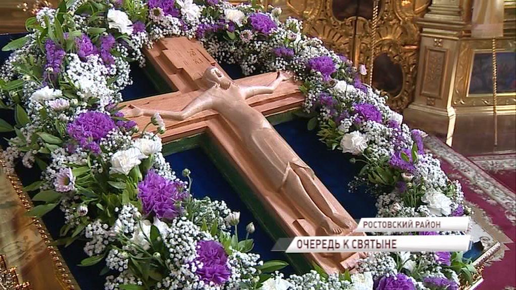 Копия Годеновского креста отправится на военную базу в Сирию