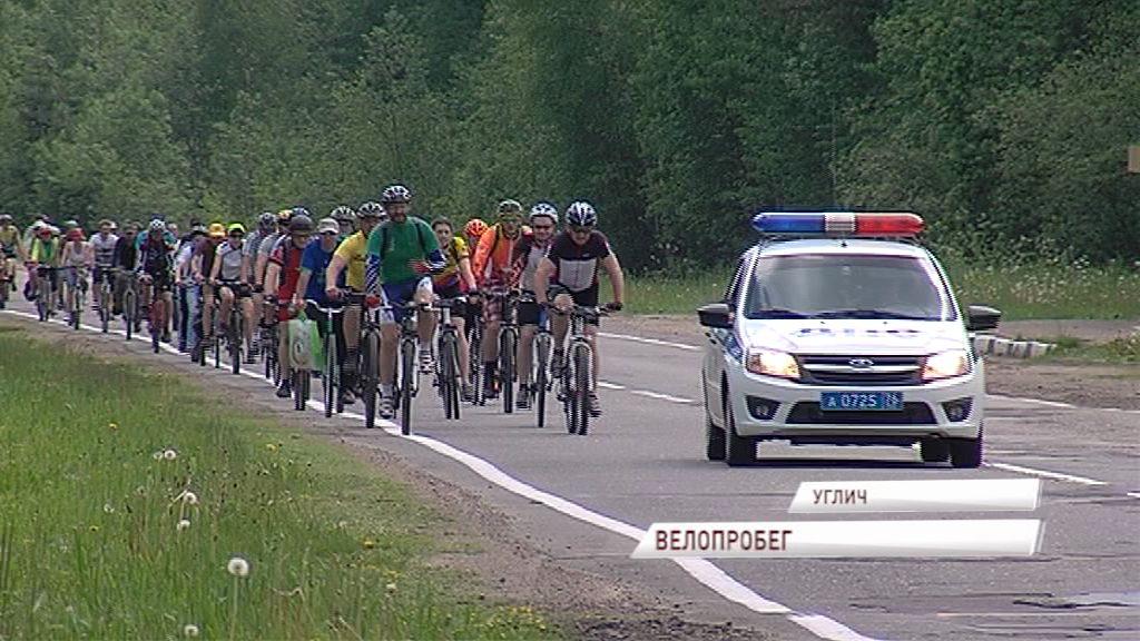 Велосипедисты из Германии, США, Великобритании, Норвегии и даже Сингапура приехали в Углич