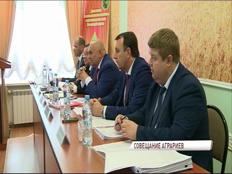 Первый замминистра сельского хозяйства РФ провел совещание по развитию АПК в Ярославской области