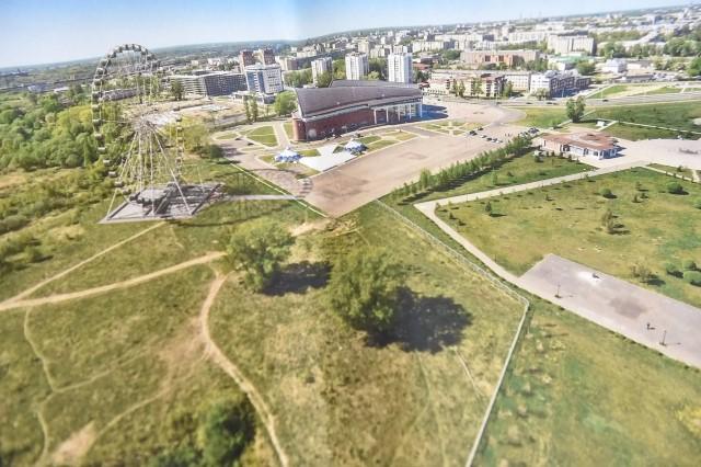 В парке Тысячелетия появится огромное колесо обозрения за 150 млн. рублей