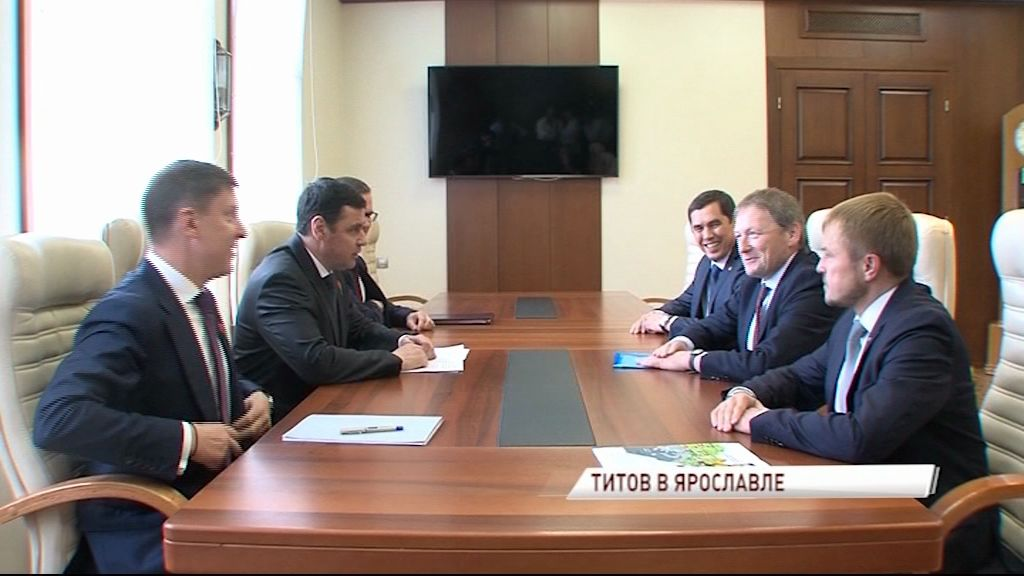 Борис Титов высоко оценил потенциал Ярославской области в сфере поддержки малого и среднего бизнеса