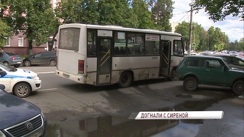 В Ярославле усилили контроль за техническим состоянием маршруток