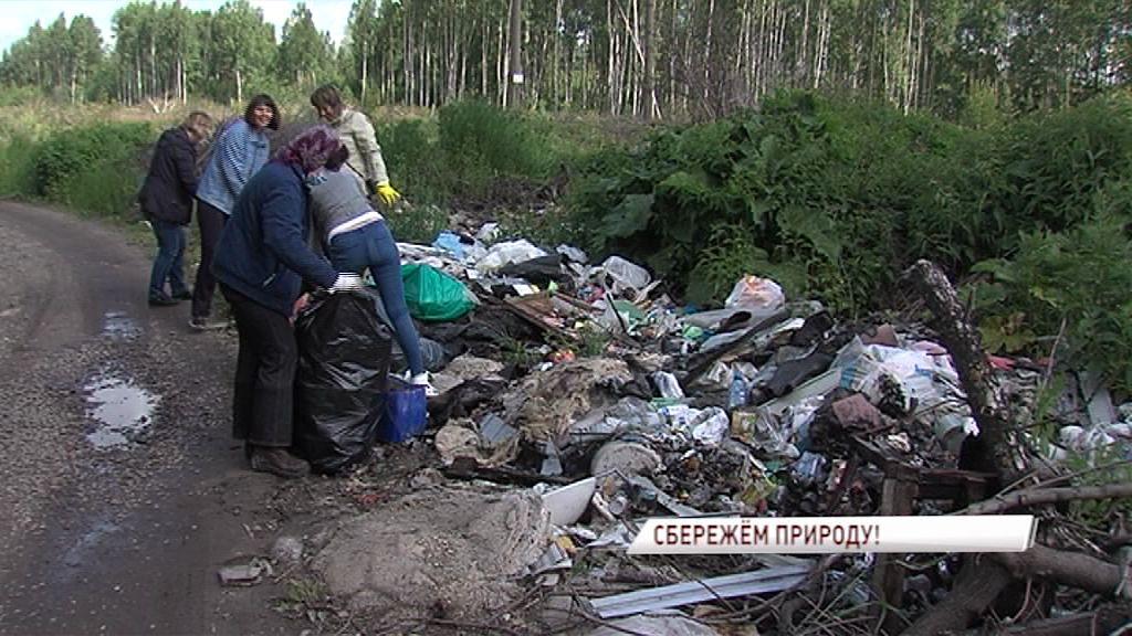 В Заволжском районе прошел День чистоты