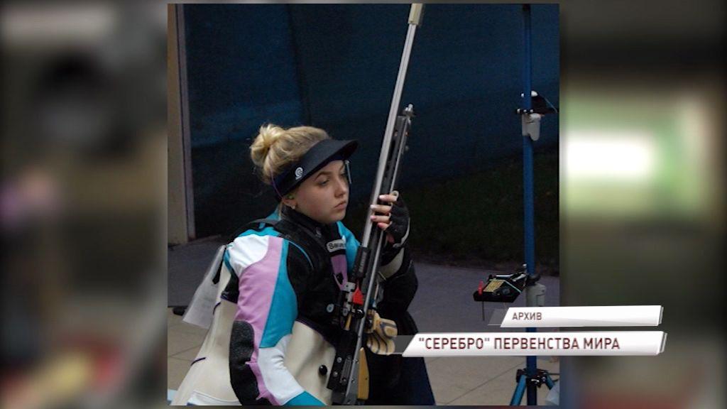 Анастасия Галашина стала серебряной призеркой первенства мира по пулевой стрельбе