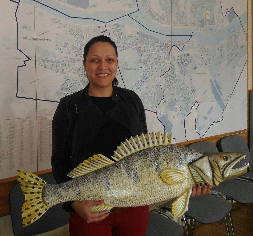 Жительница Рыбинска привезла на «Поле чудес» метрового судака