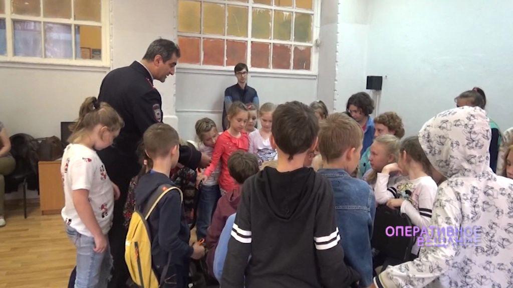 Полицейские прочитали школьникам лекцию о вреде наркотиков