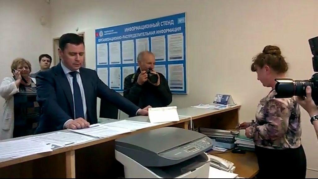 Глава региона Дмитрий Миронов посетил Мышкинский район