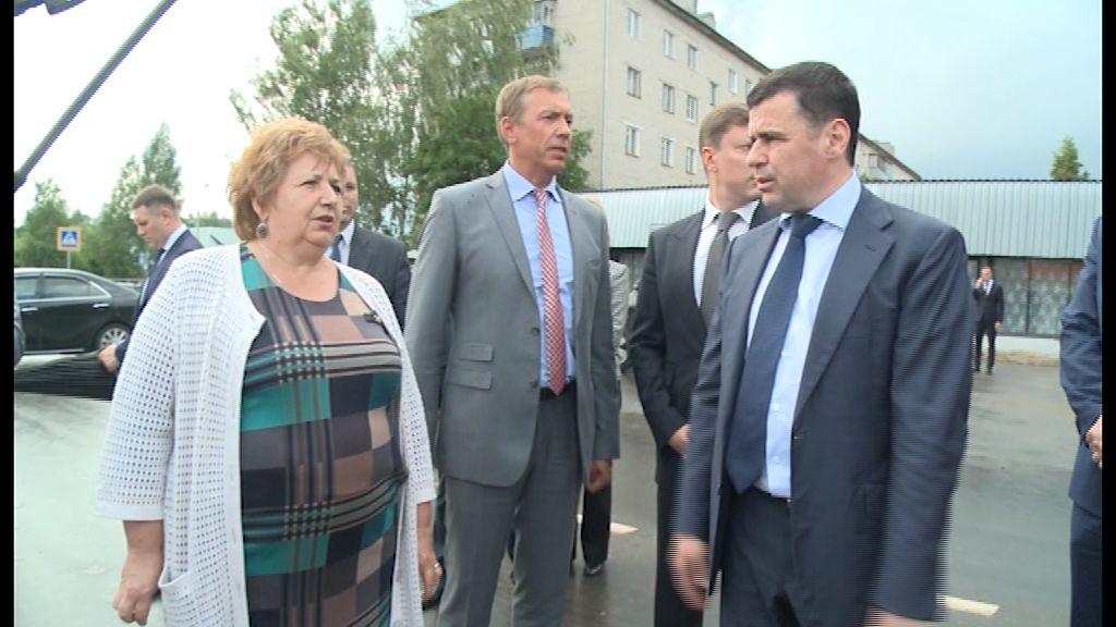 Глава региона Дмитрий Миронов с рабочим визитом посетил Мышкин