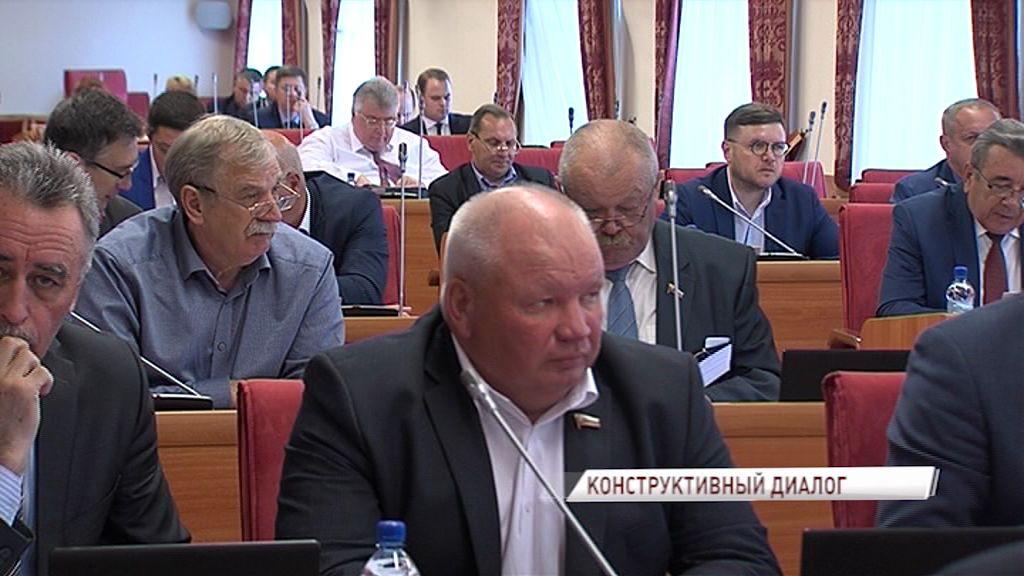Состоялось заключительное заседание облдумы перед каникулами: что решили депутаты