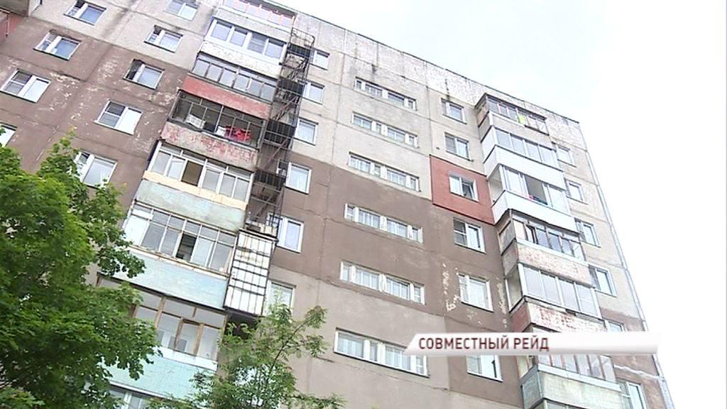 Сотрудники Госжилинспекции и ОНФ вынесли вердикт многоэтажке на Ленинградском проспекте