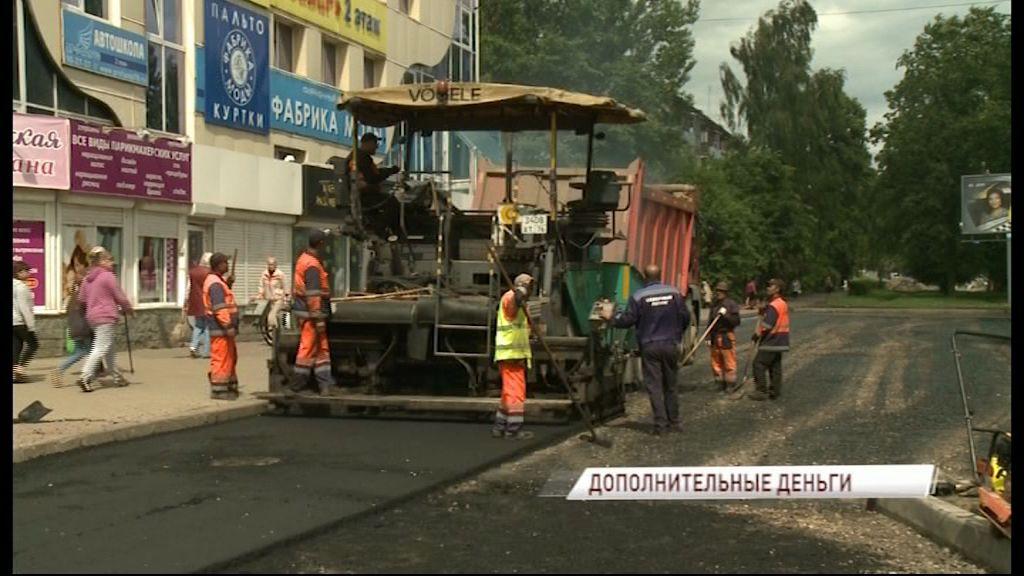 Дополнительные 16 миллионов рублей направлены на ремонт улицы Урицкого в Ярославле
