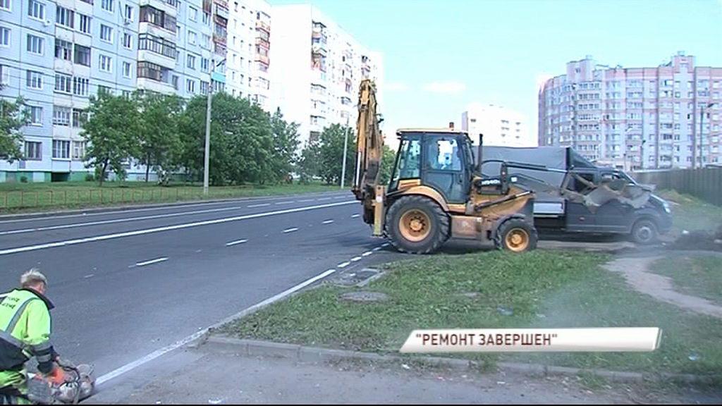 Ремонт на улице Панина почти завершен: какие работы проведены и во сколько обошелся ремонт