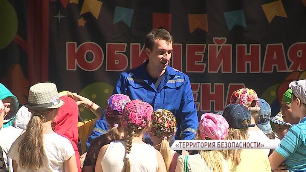 Воспитанники детского лагеря тушили пожар и оказывали первую помощь