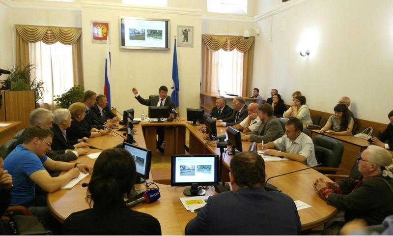 Андрей Данилов: «Приятно, что вопрос реконструкции Первомайского бульвара вынесен на обсуждение общественности»
