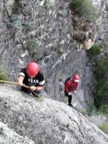 ФОТО: дагестанские спасатели вызволили ярославских туристов из горных капканов