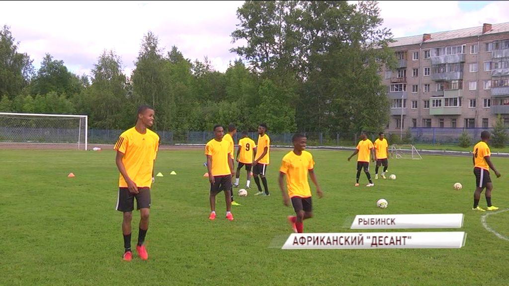 Футбольные агенты привезли в Ярославскую область футбольную команду из Нигерии