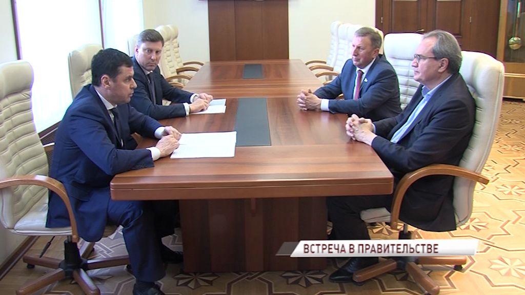 Валерий Фадеев и Дмитрий Миронов обсудили вопросы модернизации и реконструкции города